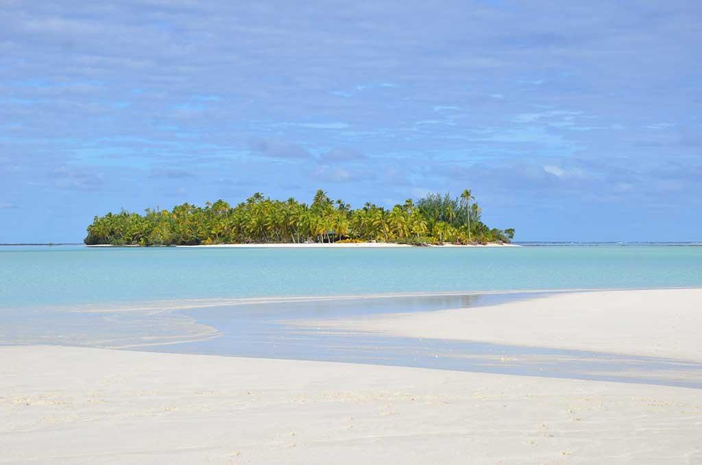 Lust auf eine außergewöhnliche Hochzeit am Strand in der Südsee? One-Foot-Island im Südpazifik