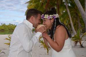 Lust auf eine außergewöhnliche Hochzeit am Strand in der Südsee?